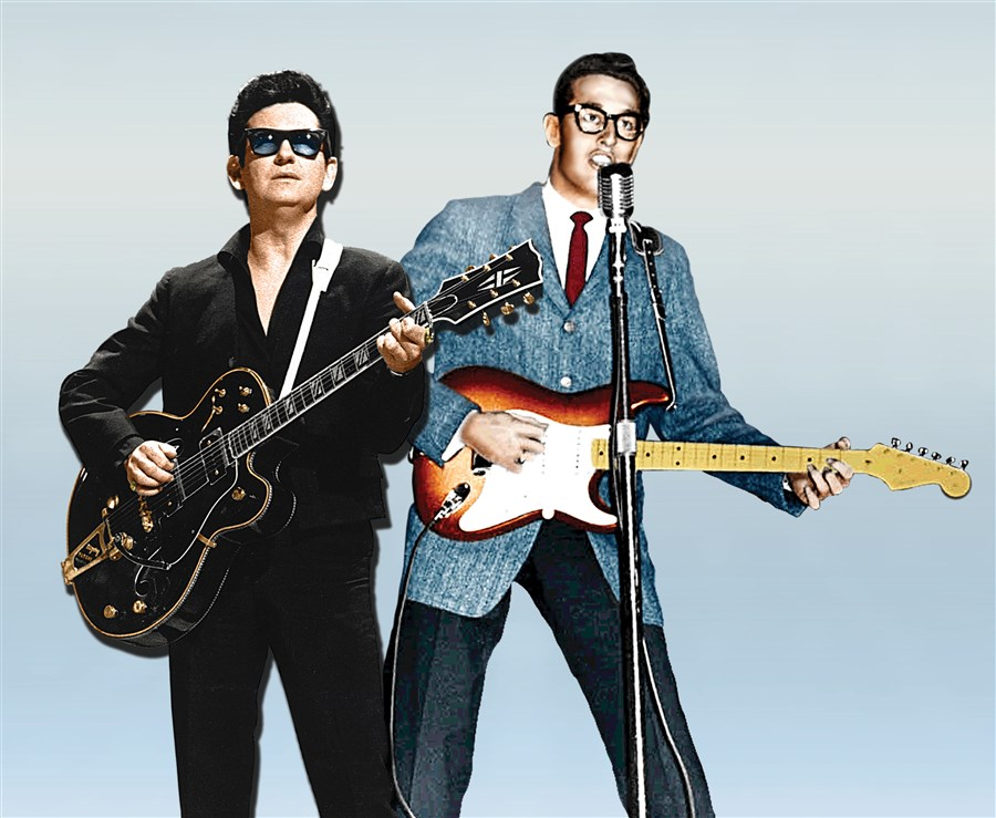 Roy Orbison & Buddy Holly - Holographic