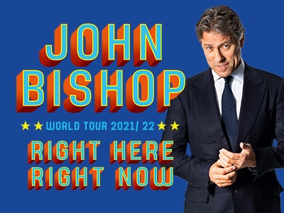 John Bishop - Right Here, Right Now